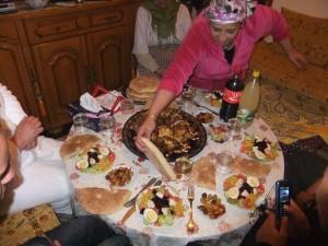 Festessen zur Neujahrsfeier